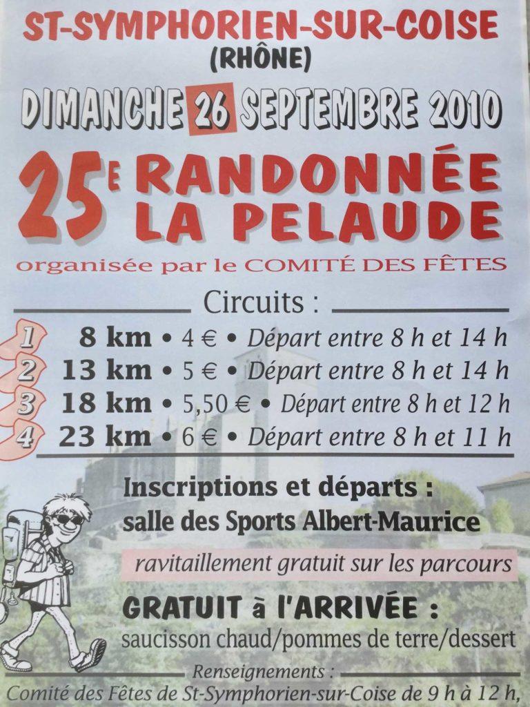 25e randonnée la Pelaude